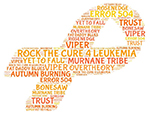 Rosenedge supports Rock the Cure